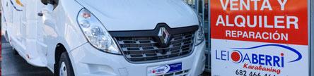Reparación de caravanas y autocaravanas